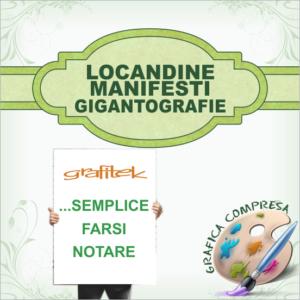 Locandine Manifesti Gigantografie