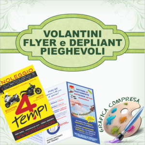 Volantini e Depliant Pieghevoli
